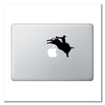 Bull Rider Laptop Decal