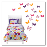 Butterflies - 4 colors