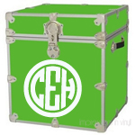 Circle Monogram Trunk Decal