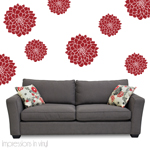 Dahlia Flower Wall Decal