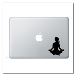 Dhyana Yoga Laptop Pose