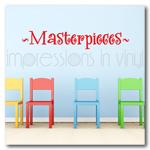 Masterpieces - Childrens Vinyl Wall Art