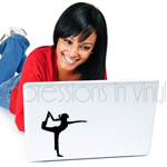 Natarajasana Yoga Pose Decal