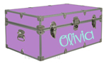 Camp Trunk Name - Olivia Font