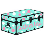 Polka Dots for Camp Trunk