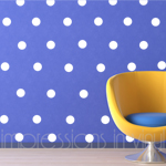 Polka Dot Wall Confetti