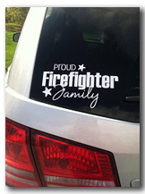 Proud Firefighter Family