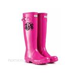 Rain Boot Monogram