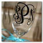 3 inch Vinyl Monogram